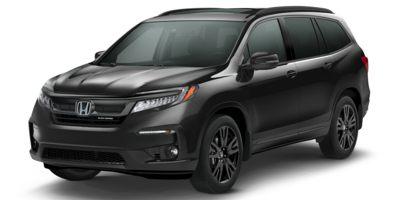 New 2020  Honda Pilot 4d SUV AWD Black Edition at Carmack Honda near Danville, IL