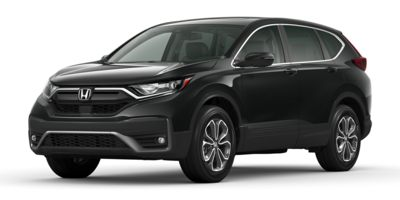 New 2020  Honda CR-V 4d SUV AWD EX-L at Carmack Honda near Danville, IL