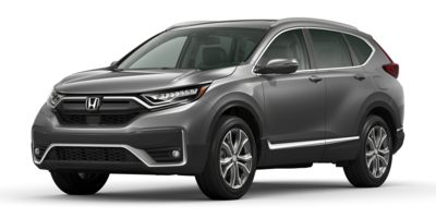 New 2020  Honda CR-V 4d SUV AWD Touring at Carmack Honda near Danville, IL