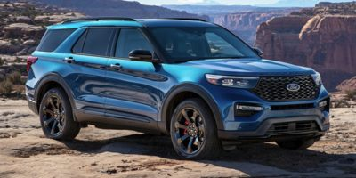 New 2021  Ford Explorer ST 4WD at CreditNetworkUSA near Mayfield Heights, OH