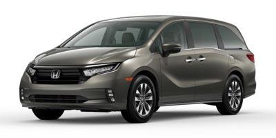 New 2021  Honda Odyssey EX-L Auto at Carmack Car Capitol near Danville, IL
