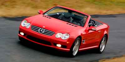 Used 2004  Mercedes-Benz SL-Class 2d Convertible SL500 at Carriker Auto Outlet near Knoxville, IA