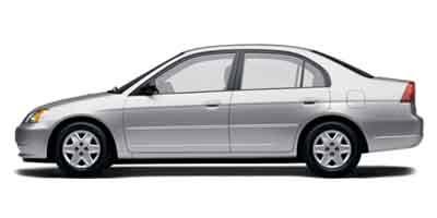 Used 2003  Honda Civic Sedan 4d LX MT at The Gilstrap Family Dealerships near Easley, SC