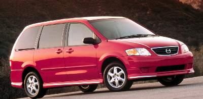 2000 Mazda MPV  - C & S Car Company