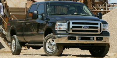 Used 2006  Ford F250 4WD Crew Cab Lariat at Carriker Auto Outlet near Knoxville, IA