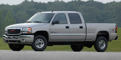 Used 2005  GMC Sierra 2500 4WD Crew Cab HD SLE at Monster Motors near Michigan Center, MI