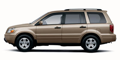 Used 2005  Honda Pilot 4d SUV 4WD EX-L w/DVD at Car Country near Aurora, IN