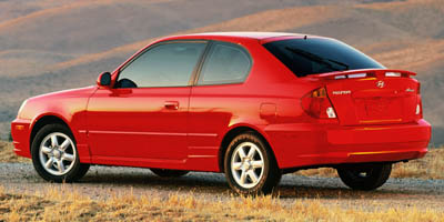 Used 2005  Hyundai Accent 3d Coupe GLS AT at car country near harrison, OH
