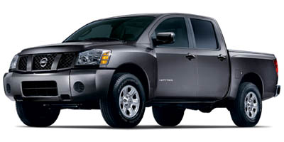 2005 Nissan Titan XE 2WD Crew Cab  for Sale  - R5586A  - Fiesta Motors