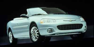2001 Chrysler Sebring convertable  - 15188A