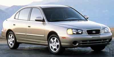 Used 2001  Hyundai Elantra 4d Sedan GLS AT at Camacho Mitsubishi near Palmdale, CA