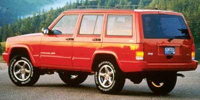 Used 1998  Jeep Cherokee 4d SUV 4WD Classic at Shoreline Auto Center near Virginia Beach,, VA