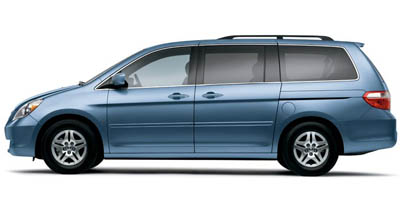 Used 2006  Honda Odyssey 5d Wagon EX-L w/RES at Edd Kirby's Adventure Mitsubishi near Chattanooga, TN