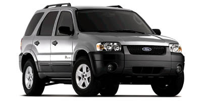 Used 2007  Ford Escape Hybrid 4d SUV FWD at Peters Auto Mall near High Point, NC