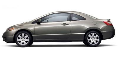 Used 2007  Honda Civic Coupe 2d LX 5spd at Shook Auto Sales near New Philadelphia, OH