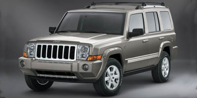 Pre-Owned 2007 JEEP COMMANDER Limited Sp
