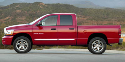 Used 2007  Dodge Ram 1500 4WD Quad Cab SLT TRX4 at Credit Now Auto Inc near Huntsville, AL