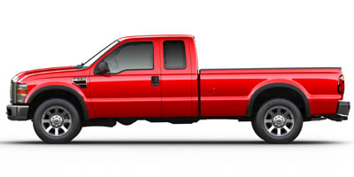 Used 2008  Ford F250 4WD Reg Cab XLT at The Gilstrap Family Dealerships near Easley, SC