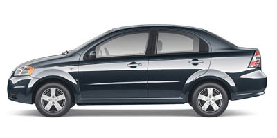 Pre-Owned 2007 CHEVROLET AVEO LS Sedan 4